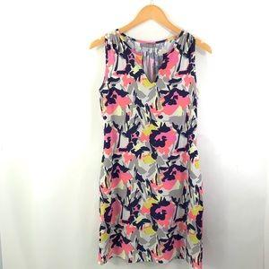 ELLIE KAI Kate Dress Sleeveless Stretch V-Neck i24